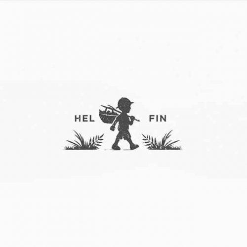 Logo | Hel Fin – Wordmark and logomark