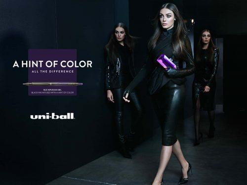 Photography – Levine Leavitt – Sophy Holland – Advertisement – Uniball