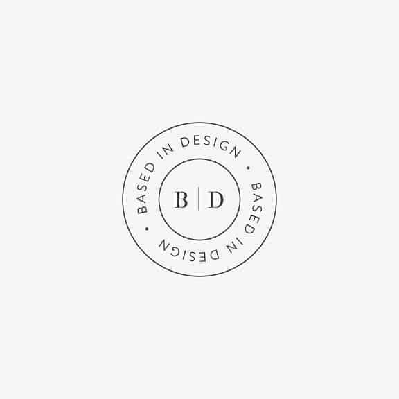 Logo   Based in Design – Monogram and crest
