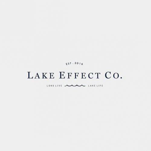 Logo | Lake Effect Co. – Wordmark by Studio 9 Co