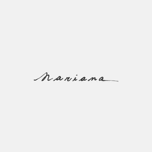 Logo | Mariama – Wordmark and hand lettering