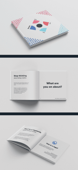 Simple and Modern Book Design