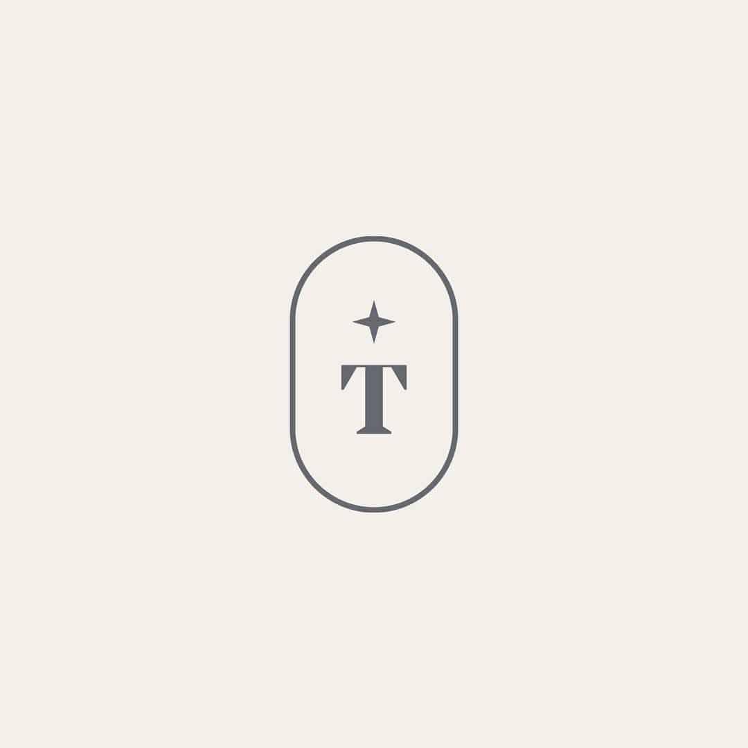 Logo | T – Monogram and Crest logo design