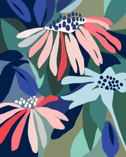 Patterns   Ophelia Pang early summer Floral