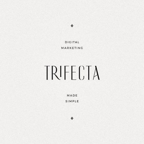 Logo   Trifecta – Wordmark by Treadaway Co. Design – Wordmark