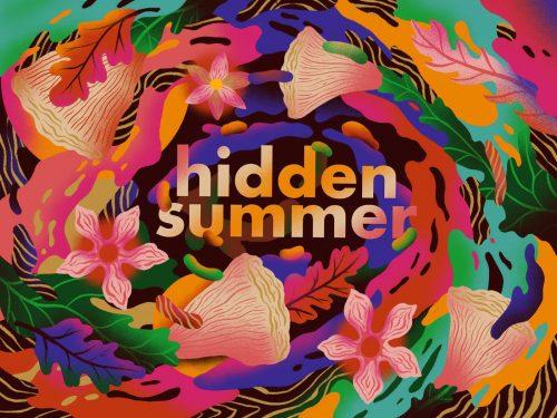 Illustration | Procreate – Hidden Summer Floral