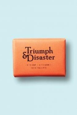 Logo   Triumph & Disaster – Wordmark – Modern graphic design.   noissue.c