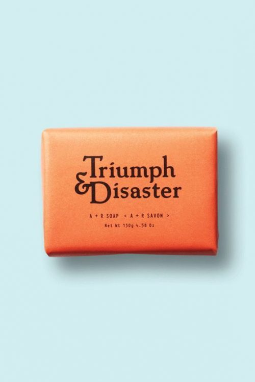 Logo | Triumph & Disaster – Wordmark – Modern graphic design. | noissue.c