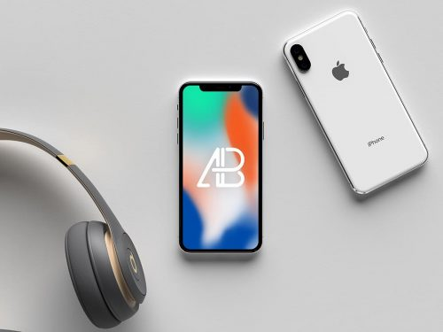 Asset | Modern iPhone X Mockup Vol.2