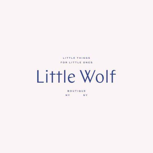 Logo | Little Wolf – Wordmark by Audrey Elise