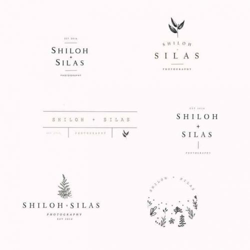 Logo   5 draft logo designs for Shiloh and Silas – Wordmark