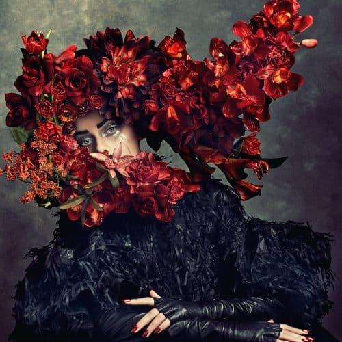 Photography – Levine Leavitt – Sophy Holland – Beauty – Flowerbomb 06