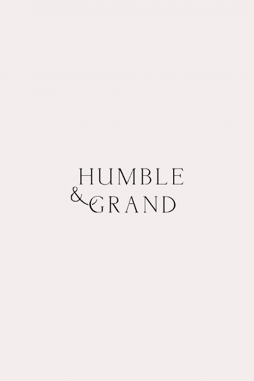 Logo | Humble & Grand – Wordmark, Minimalist branding for interior designer and shop  ...
