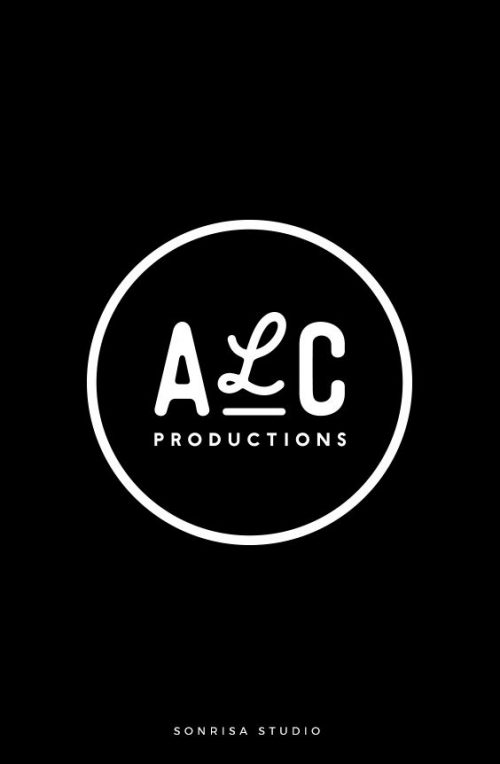 Logo | Brand identity for a production company. Simple circle logo with unique handwritten font  ...