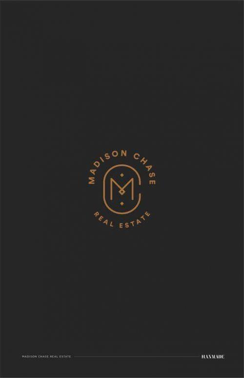 Logo | Madison Chase – Monogram and crest, Logo & branding by Hanmade| hanmade.c