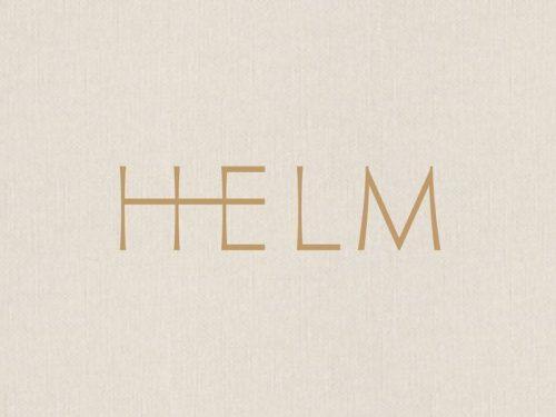 Logo | Helm Logo – Wordmark by Amber Asay