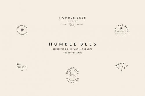 Logo | Humble Bees Branding & Packaging – Wordmark by Saturday Studio| saturdaystudio.co