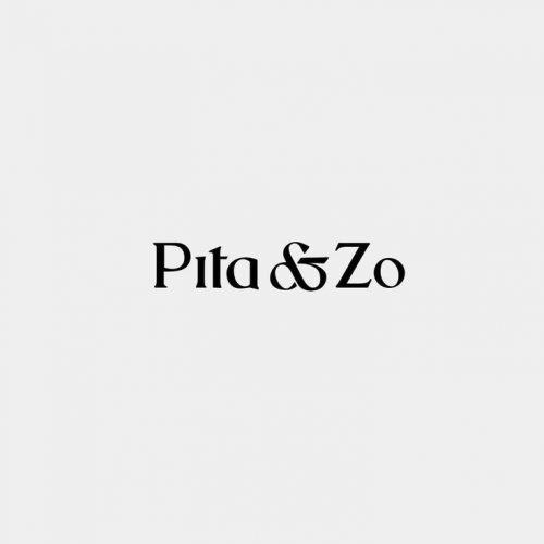 Logo | Pita&Zo – Wordmark and brand identity. Handmade & artisan garmets