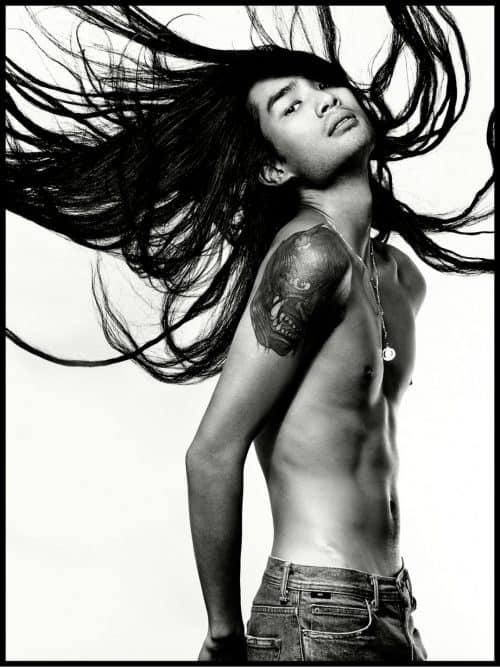 Photography – Levine Leavitt – Sophy Holland – Illustrated Man – Tattoo  ...