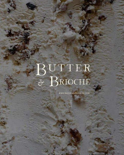 Logo | Butter & Brioche – Wordmark