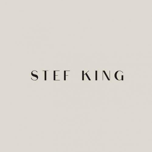 Logo | Stef King – Wordmark by Alleyway Design ig @alleywaydesigns