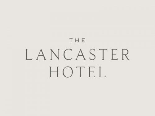 Logo | The Lancaster Hotel – Wordmark and logo design