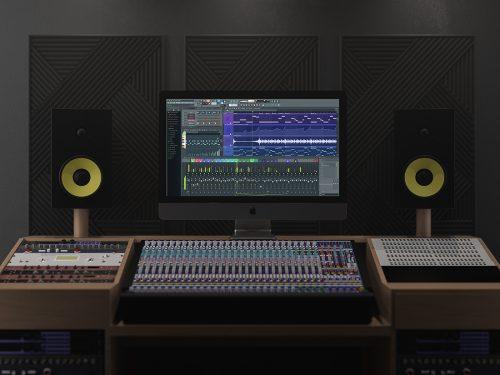 Asset | iMac Pro In Music Studio Mockup