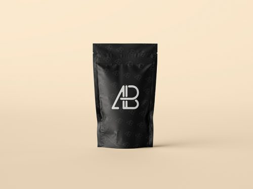 Asset | Pouch Bag Packaging Mockup