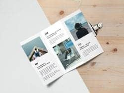 Asset | Tri Fold Brochure MockUp #2
