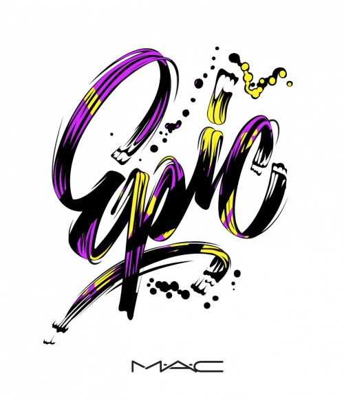 Alex Trochut | Typography Design Illustration MAC COSMETICS STYLE A EPIC1-1238×1440