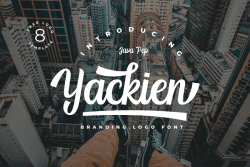 Asset   Yackien Font Typeface