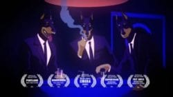 Caravan Palace – Lone Digger (Official Music Video) | Mature Animated Illustrated Music Vi ...