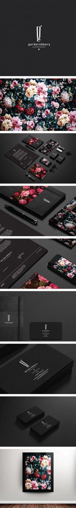 Garderobbery by Pavel Ilyuk | Branding and Identity