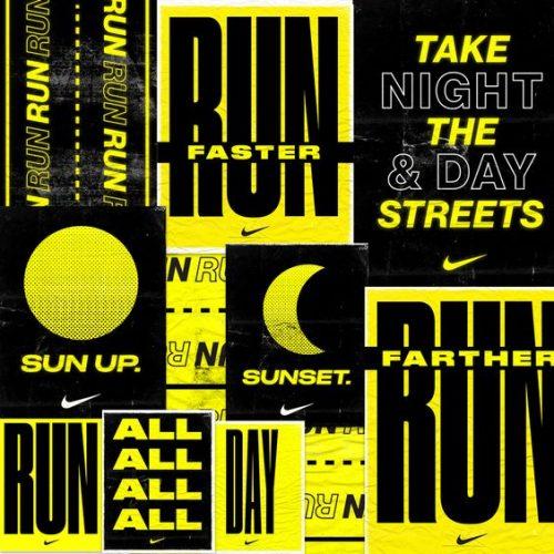 Graphic Design | Nike Run Faster