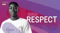 Branding and Identity Example | Sport at the Service of Humanity Declaration of Principles