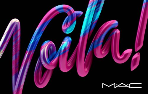 Alex Trochut | Typography Design Illustration MAC COSMETICS STYLE B VOILA1-1600×1014