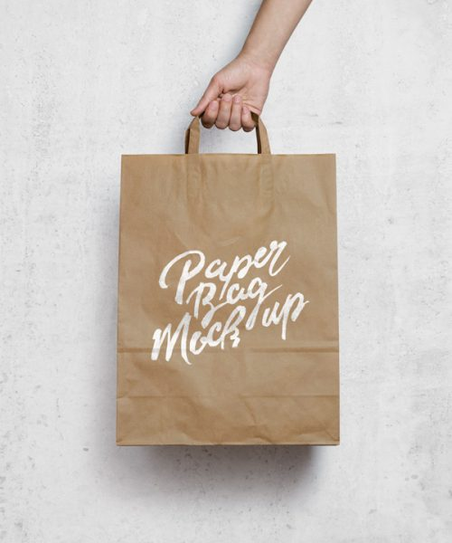 Asset | Brown Paper Bag MockUp