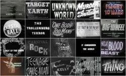 1940s Movie Titles
