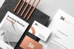 Copperstone Branding Mockup Vol. 1 ~ Branding Mockups ~ Creative Market