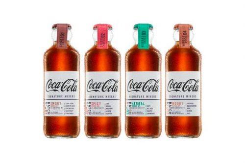 Coca-Cola Signature Mixers Bottle Design