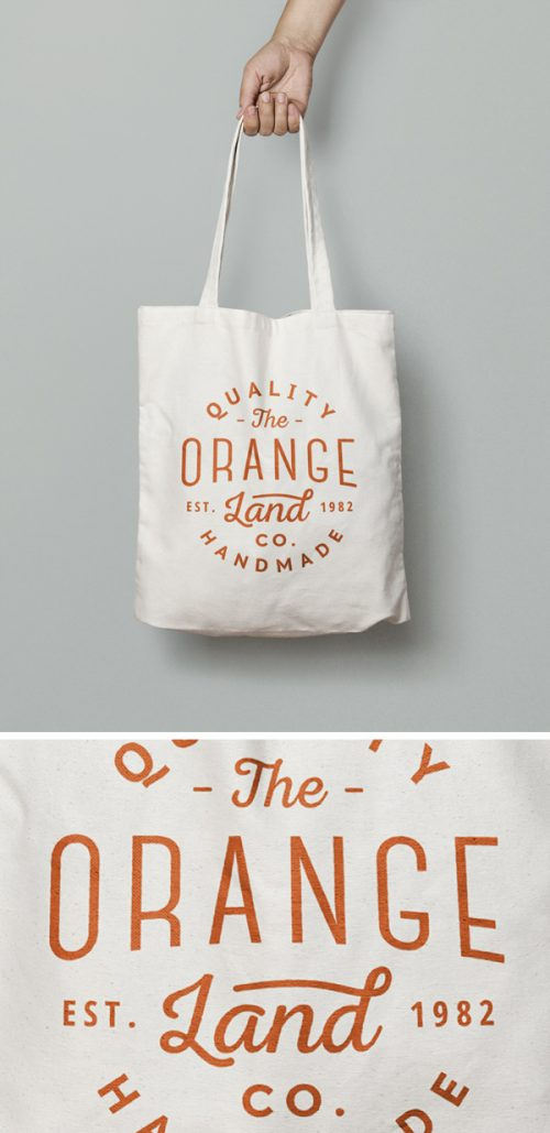 Asset | Canvas Tote Bag MockUp