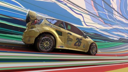 World Rally Championship 2018 – J Sport – Race car promo