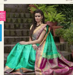 Saree fall 2 India