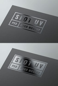 Asset   Spot UV Logo MockUp