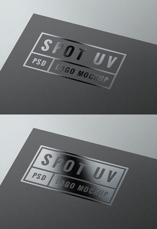 Asset | Spot UV Logo MockUp