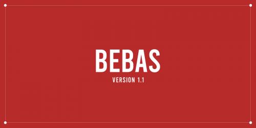 Asset | Bebas Font Typeface