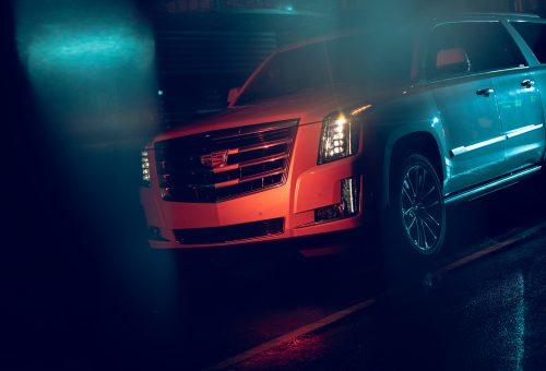 Photography – MP Curtet – Colorful and Dark Cadillac Escalade Photo Shoot 004