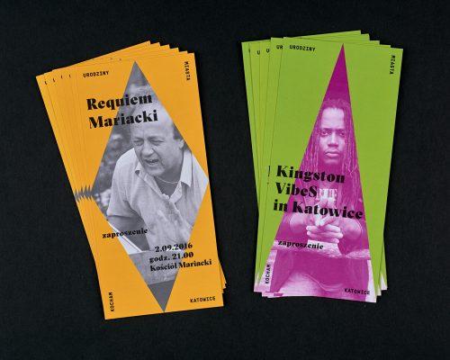 Graphic Design – Poster Design – Katowice City's 151th Anniversary Celebration ...