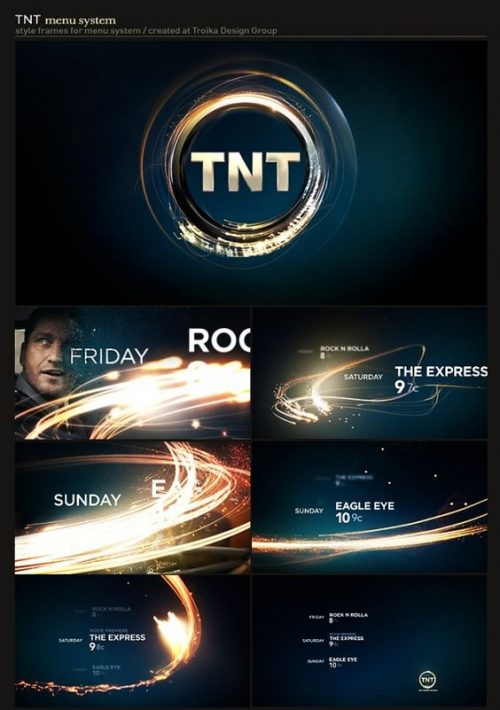 Network Branding | TNT Menu System