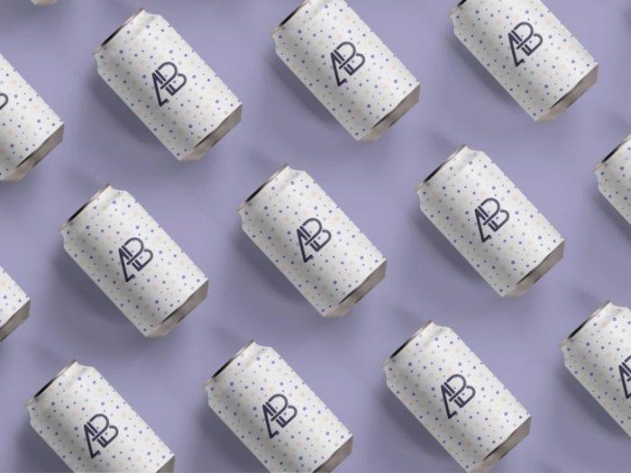 Soda Can Branding Mockup   MockupWorld